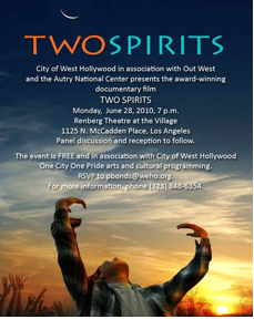 Two Spirits « From Eternity To...
