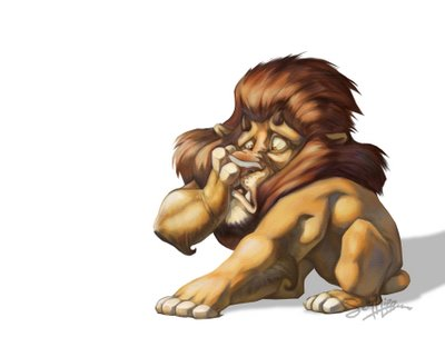 The Cowardly Lions That Refuse To Roar