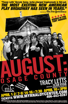 essays about august osage county Suggested essay topics and project ideas for august: osage county part of a detailed lesson plan by bookragscom.